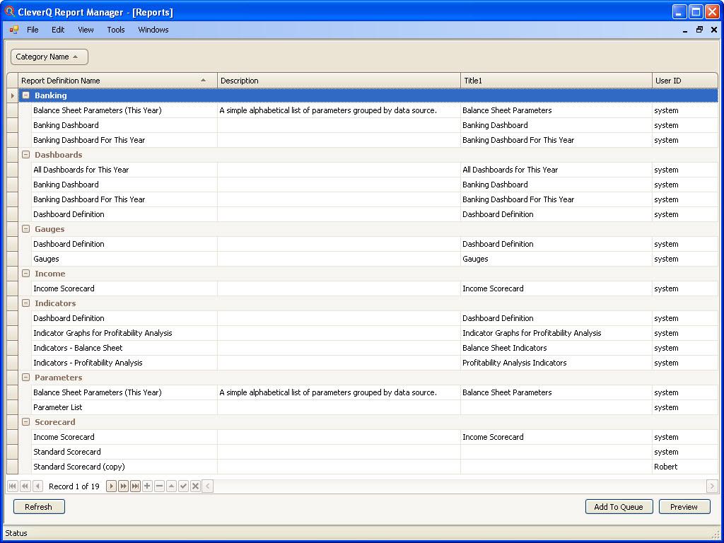 Analytics Report Examples
